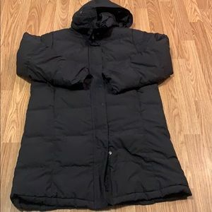 L.L. Bean Long Puffer Down Jacket